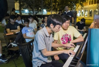 Pianovers Meetup #91, Jonathan Lam performing