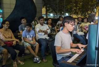 Pianovers Meetup #91, Albert Cheng performing