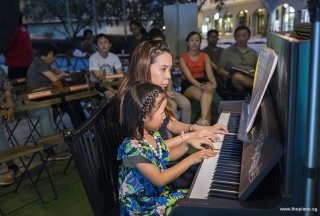 Pianovers Meetup #92, Gwen, and her piano teacher