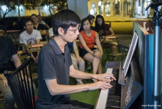 Pianovers Meetup #92, Jonathan Lam performing for us