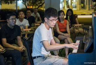 Pianovers Meetup #92, Goh Eng Mong performing