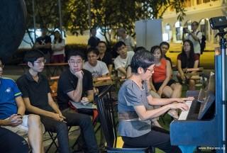 Pianovers Meetup #92, Lim Ee Fong performing