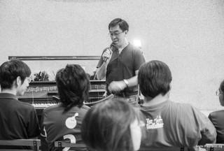 Pianovers Meetup #92, Chris Khoo sharing with us