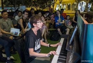 Pianovers Meetup #93, Siew Tin performing