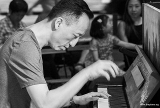 Pianovers Meetup #93, Teik Lee performing