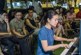 Pianovers Meetup #93, Jasmine Khoo performing