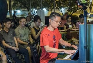 Pianovers Meetup #93, Gan Theng Beng performing