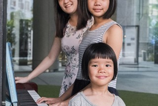 Pianovers Meetup #94 (Mid-Autumn Themed), Corrine Ying, Sonya, and her sister