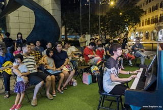 Pianovers Meetup #94 (Mid-Autumn Themed), Siew Tin performing