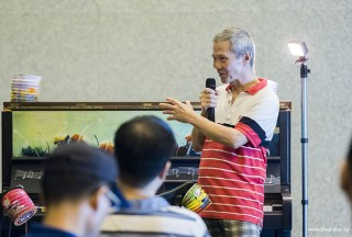 Pianovers Meetup #94 (Mid-Autumn Themed), Albert sharing with us