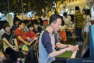 Pianovers Meetup #94 (Mid-Autumn Themed), Yu Teik Lee performing