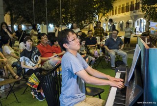 Pianovers Meetup #94 (Mid-Autumn Themed), Hiro performing