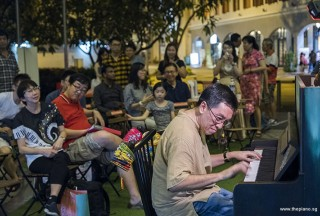 Pianovers Meetup #94 (Mid-Autumn Themed), Chris Khoo performing