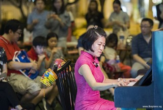 Pianovers Meetup #94 (Mid-Autumn Themed), Julia Goh performing