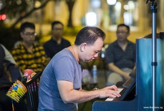 Pianovers Meetup #94 (Mid-Autumn Themed), Bill Tang performing