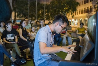 Pianovers Meetup #95, Kendrick Ong performing