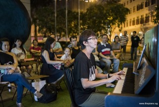 Pianovers Meetup #95, Siew Tin performing