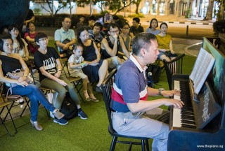 Pianovers Meetup #95, Gavin Koh performing