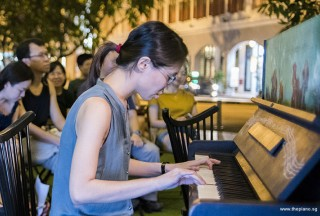 Pianovers Meetup #95, Janice Liew performing