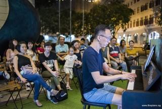 Pianovers Meetup #95, Yu Teik Lee performing