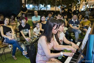 Pianovers Meetup #95, Li Zhijing, and Ten Xiao Qin performing