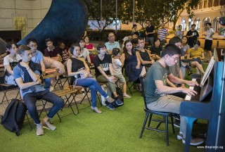 Pianovers Meetup #95, Jeremy Foo performing