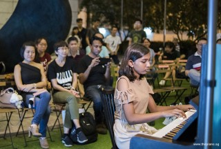 Pianovers Meetup #95, Jeslyn Peter performing