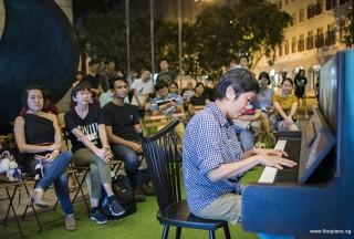 Pianovers Meetup #95, Lim Ee Fong performing
