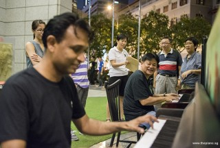 Pianovers Meetup #95, Peter Prem, and Teo Gee Yong playing