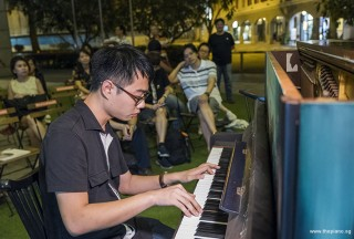 Pianovers Meetup #96, Kendrick Ong performing