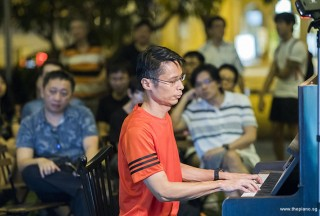 Pianovers Meetup #96, Gan Theng Beng performing
