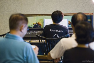 Pianovers Meetup #96, Hiro performing for us