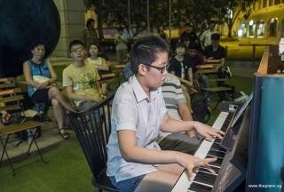 Pianovers Meetup #96, Grace Wong performing