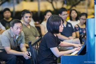Pianovers Meetup #97, Rowen Wong performing