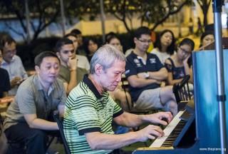 Pianovers Meetup #97, Albert performing