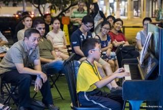 Pianovers Meetup #97, Fang Ming Yu performing