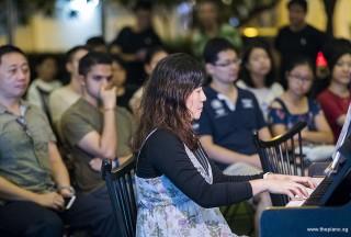Pianovers Meetup #97, Tan Chia Huee performing