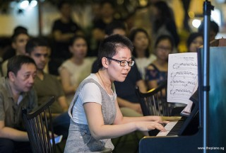 Pianovers Meetup #97, Grace Wong performing