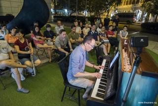 Pianovers Meetup #97, Teik Lee performing
