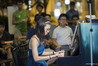 Pianovers Meetup #98, Janice Liew performing