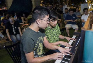 Pianovers Meetup #98, Jeremy Foo, and Teh Yuqing performing