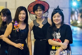 Pianovers Meetup #99 (Halloween Themed), Karen Aw, May Ling, and Tan Chia Huee