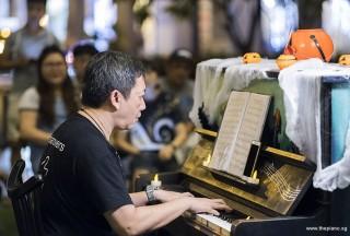 Pianovers Meetup #99 (Halloween Themed), Gavin Koh performing