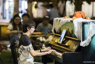 Pianovers Meetup #99 (Halloween Themed), Siew Tin performing
