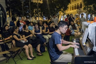 Pianovers Meetup #99 (Halloween Themed), Jeremy Foo performing