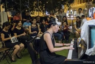 Pianovers Meetup #99 (Halloween Themed), May Ling performing