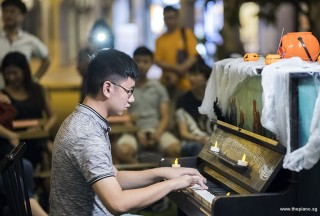 Pianovers Meetup #99 (Halloween Themed), Chia Ming Hao performing