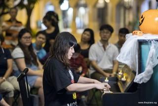Pianovers Meetup #99 (Halloween Themed), Tan Chia Huee performing
