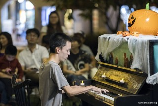 Pianovers Meetup #99 (Halloween Themed), Yan Heng performing for us