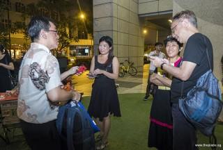 Pianovers Meetup #99 (Halloween Themed), Chris Khoo, Karen Aw, Lim Ee Fong, and Amos